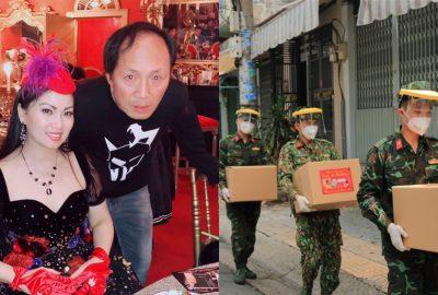 Em gái tỷ phú của Cẩm Ly ở Mỹ, ủng hộ bà con khó khăn tại Sài Gòn hơn 100 tấn lương thực