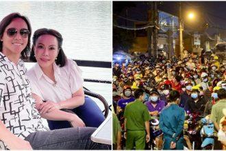 """Chồng Việt Hương nói về cảnh dòng người tấp nập về quê: """"Đừng nặng lời trách móc"""""""